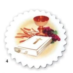 Tabliczka komunijna z nadrukiem ( z książeczką )