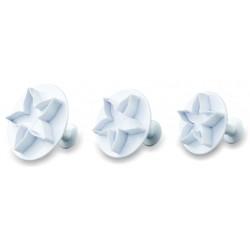 Wykrojniki plastikowe - kwiatki