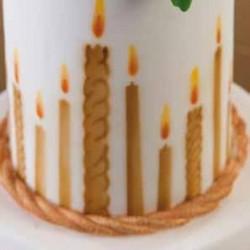 szablon świeczki