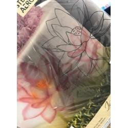 szablon kwiat lotosu większy