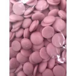 Mleczne dyski - różowe