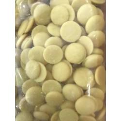 Mleczne dyski - pistacja