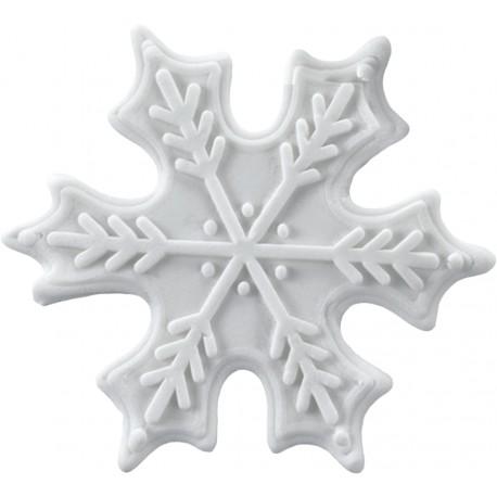 Śnieżynki cukrowe 8szt.