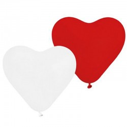 Balony serca (mix kolorów