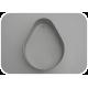 Wykrojnik do mazurków - jajko