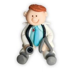 Figurka cukrowa Lekarz