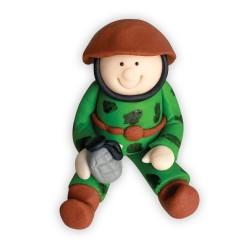 Figurka cukrowa Żołnierz