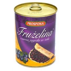 Frużelina czarna jagoda 380g