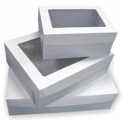 Opakowanie na tort z oknem  360x260x160