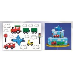 Arkusz cukrowy - pojazdy