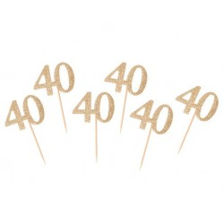 Pikery złota 40