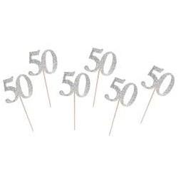 Pikery srebrna 50