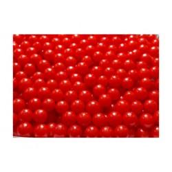 Groszki perłowe czerwone 50g
