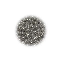 Perełki srebrne 4mm 100g