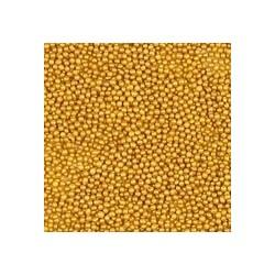 Perełki maczki złote 2mm 80g