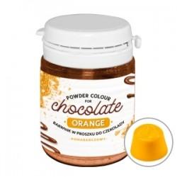 Barwnik w proszku do czekolady i mas tłustych pomarańczowy