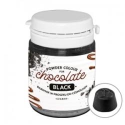 Barwnik w proszku do czekolady i mas tłustych czarny