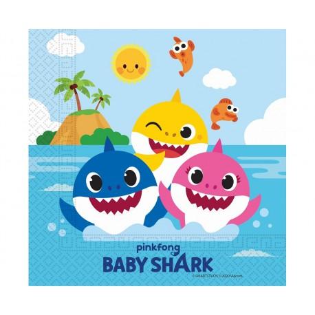 serwetki Baby Shark