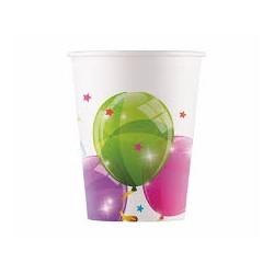 Kubeczki papierowe w balony