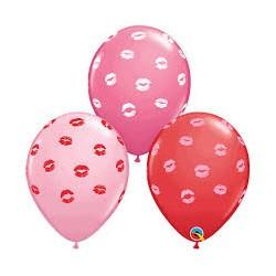 Balony w usta różowe