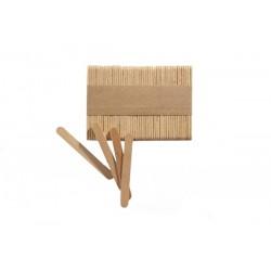 Patyczki małe drewniane 100szt. - Silikomart