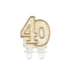 Świeczka 40