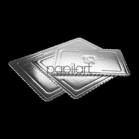 Podkład prostokątny srebrny