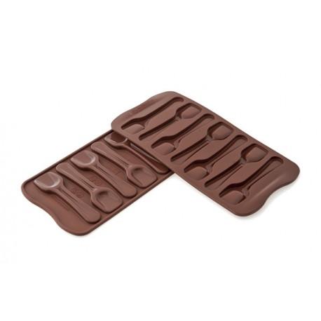 Forma silikonowa do wylewania czekolady łyżeczki