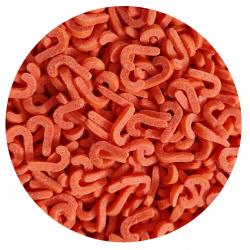 Konfetti laseczka czerwona 50g