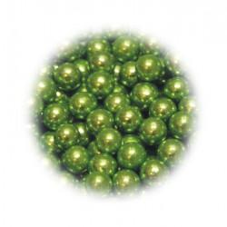 Perełki zielone 6mm