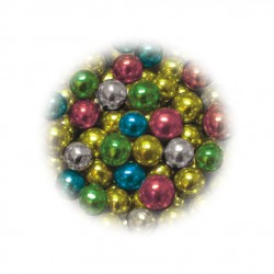 Perełki mix kolorów 4mm