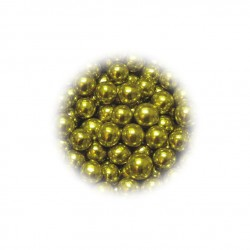 Perełki złote 4mm