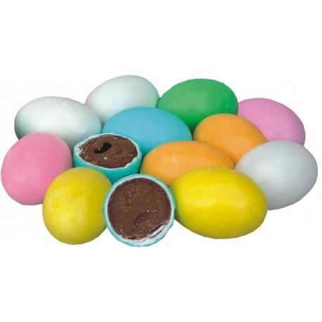 Jajka czekoladowe z nadzieniem - mix kolorów