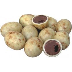Jajka czekoladowe z nadzieniem orzechowym