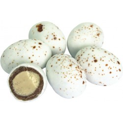 Jajka czekoladowe marmurkowe białe